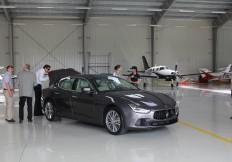 Maserati Polska prezentuje Maserati Ghibli na terenie lotniska Obory
