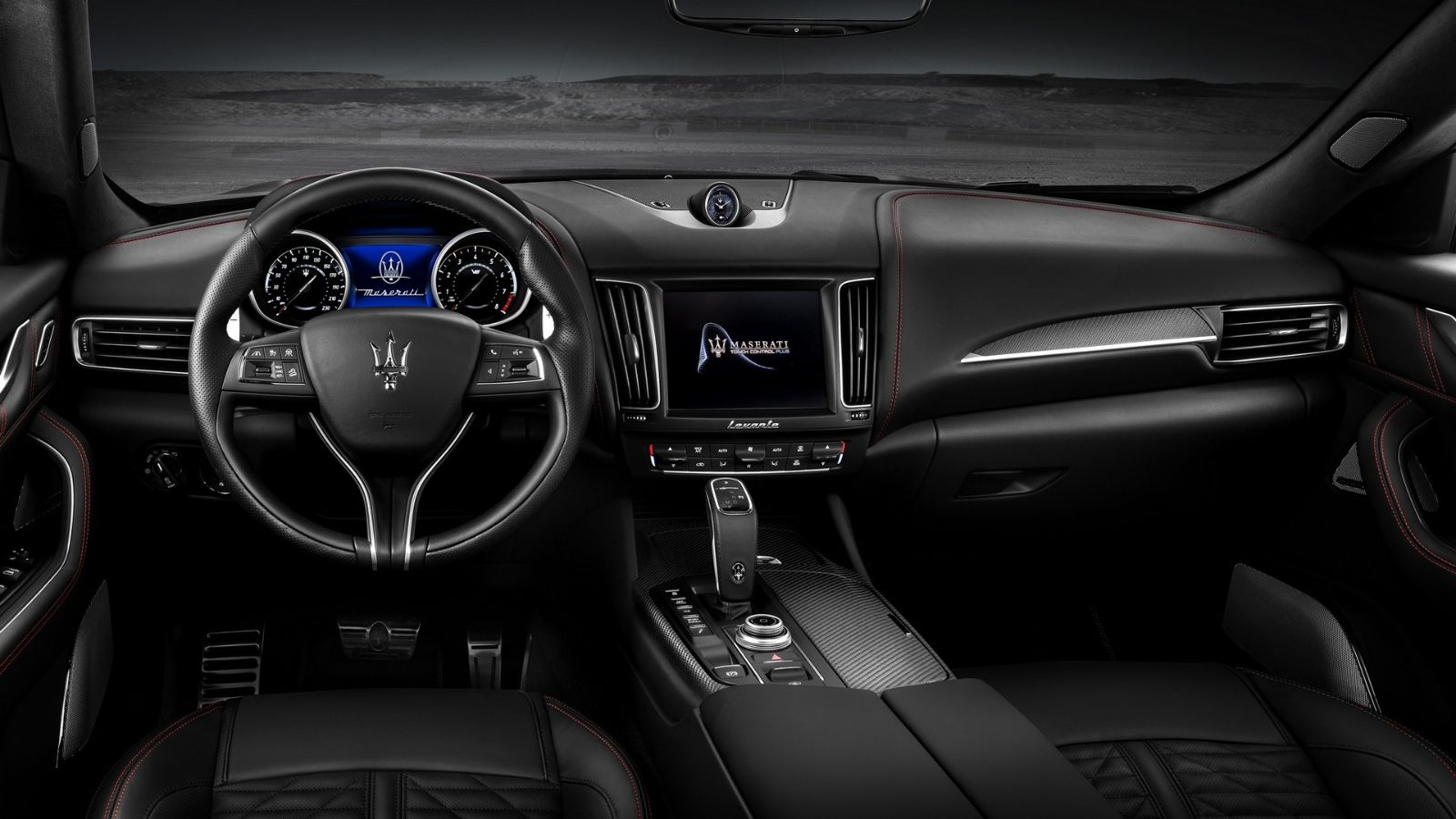 Maserati-Levante-Trofeo-V8-Dashboard-Carbon-trim